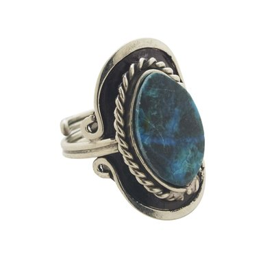Ten Thousand Villages Sky Stone Ring