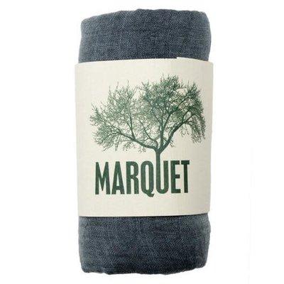 Marquet Fair Trade Smoke Binh Minh Silk and Cotton Shawl