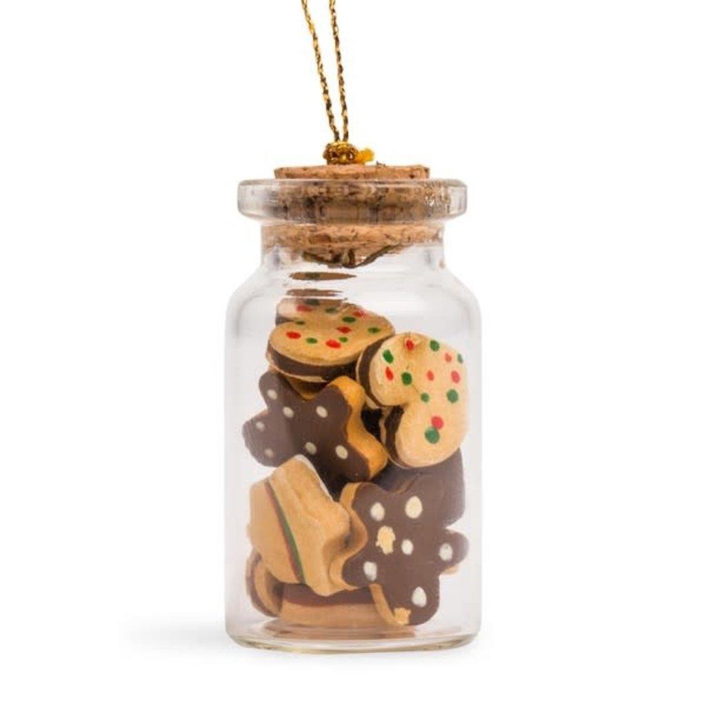Ten Thousand Villages Snack for Santa Cookie Jar Ornament