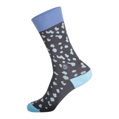 Conscious Step Socks That Give Water: Water Droplets