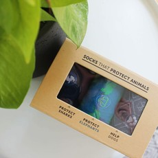 Conscious Step Socks that Protect Animals Gift Box