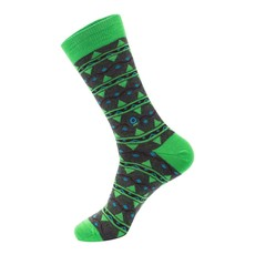 Conscious Step Socks That Protect Rainforests: Green & Blue Leaves Small