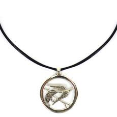 Minga Imports Songbird Alpaca Silver Necklace