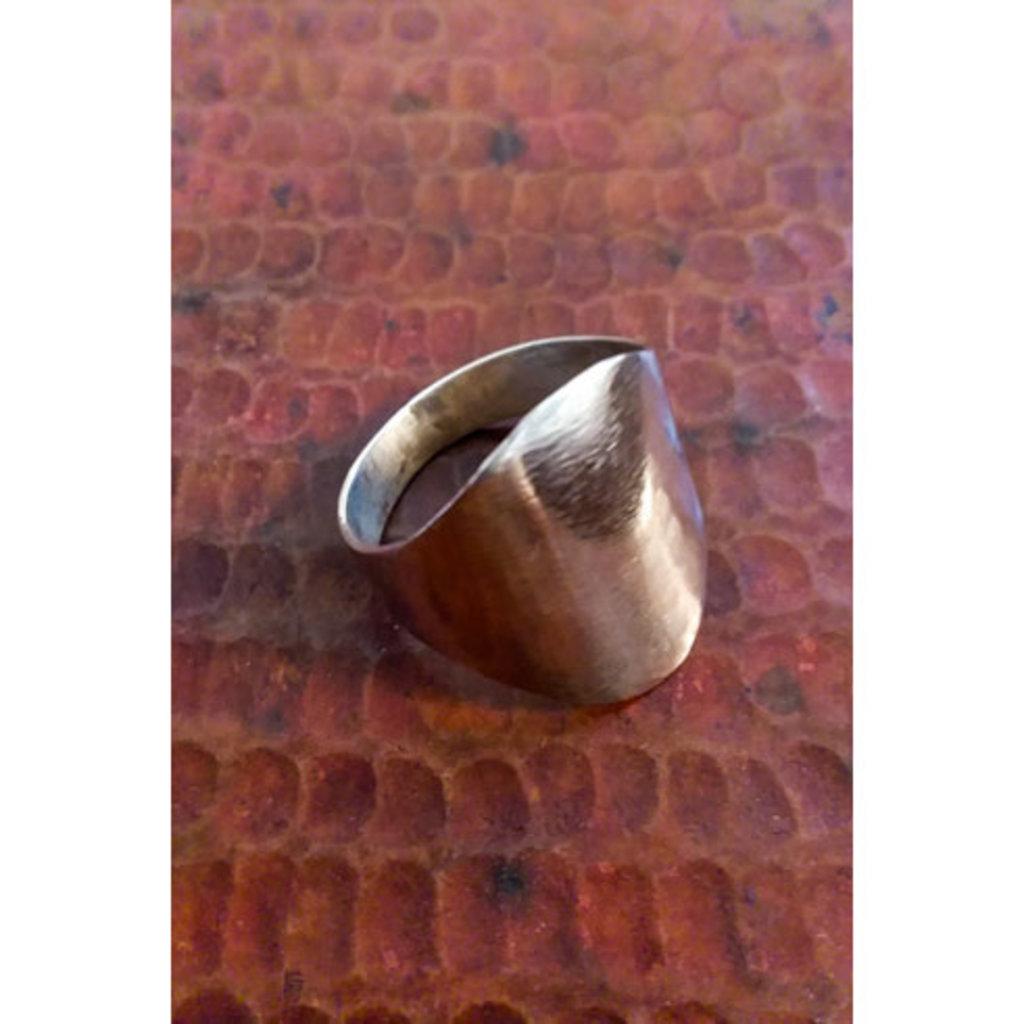 Ganesh Himal Sterling Silver Solid Newari Ring