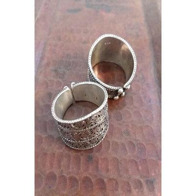 Ganesh Himal Sterling Silver Tibetan Filigree Ring