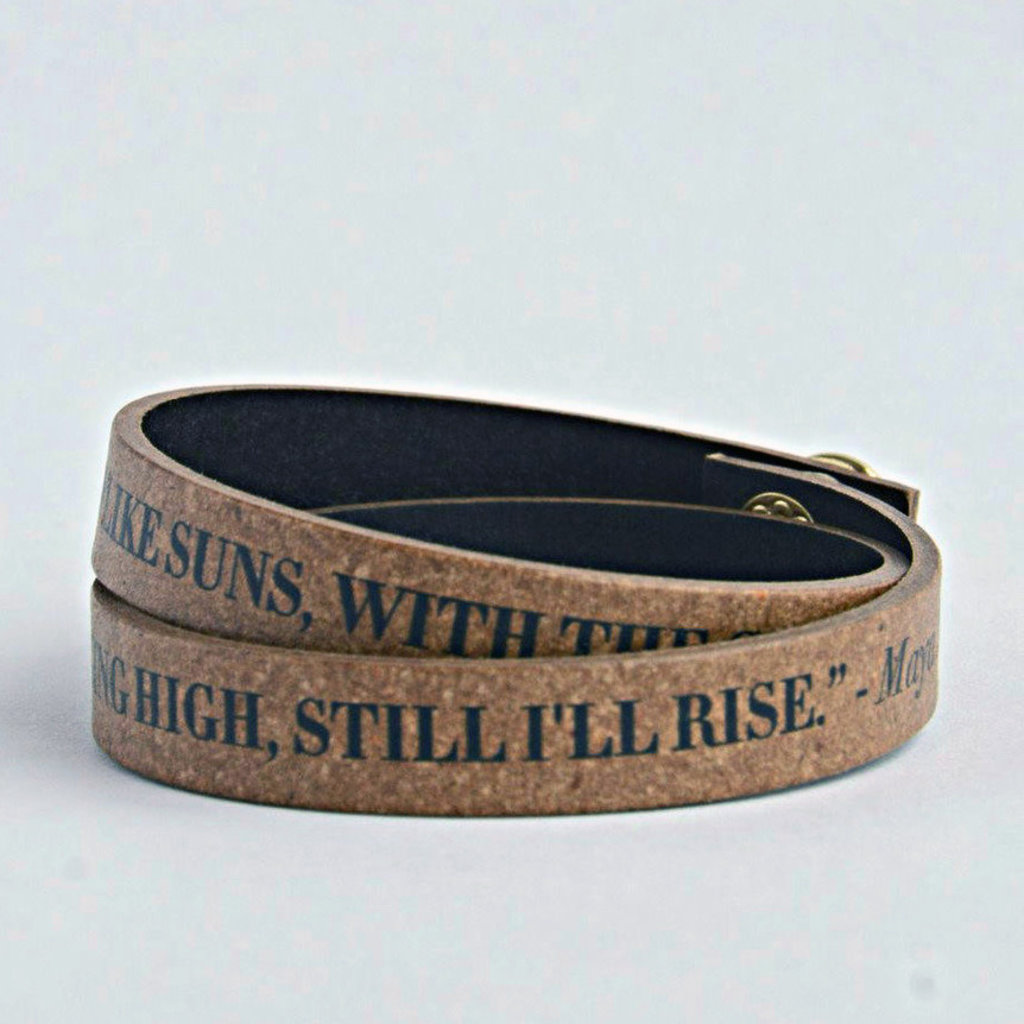 Fair Anita Still I'll Rise Leather Wrap