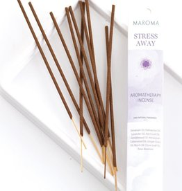 Maroma Stress Away Aromatherapy Incense