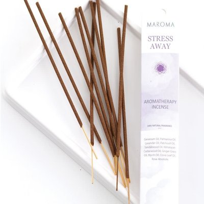 Maroma Stress Away Aromatherapy Incense
