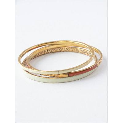 Fair Anita Sunrise Brass Bangle Set