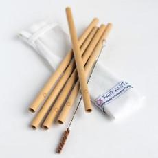 Fair Anita Sustainable Bamboo Reusable Straw Set