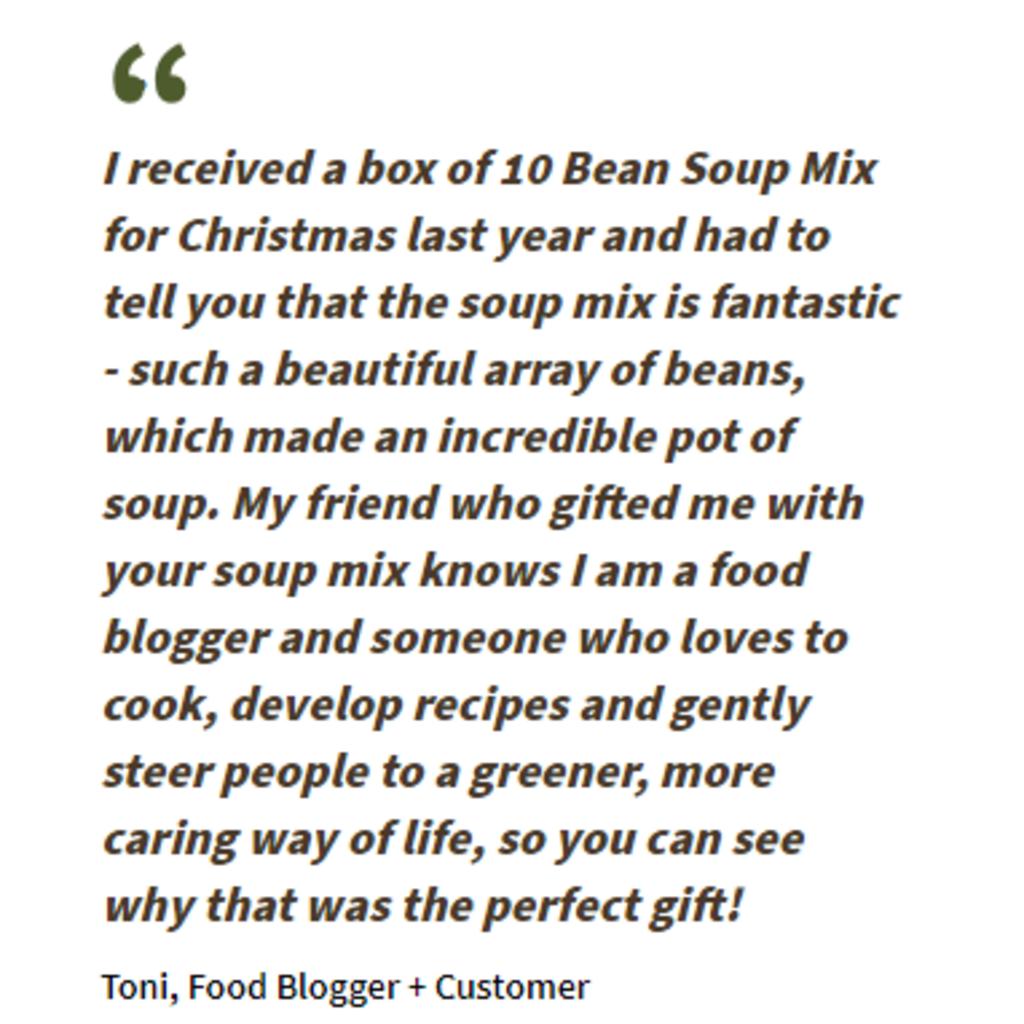 Women's Bean Project Ten Bean Soup Mix