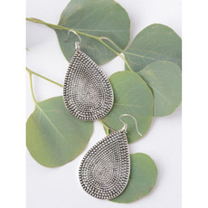 Fair Anita Textured Teardrop Earrings