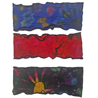Unique Batik Tie Dye Flat Headband