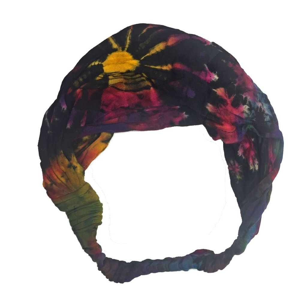 Unique Batik Thai Dye Headwrap