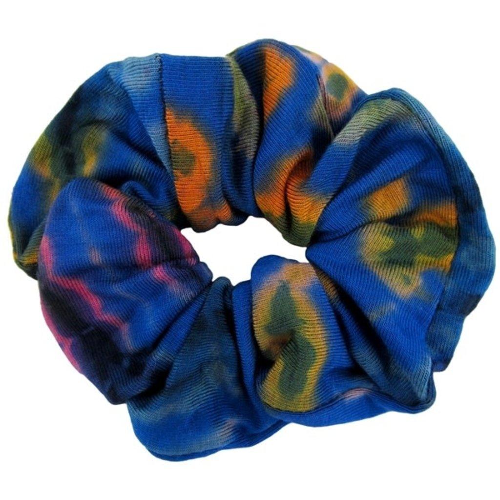 Unique Batik Tie Dye Scrunchie