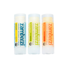 Sambah Naturals Three Pack of Zambeezi Lip Balm