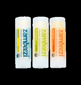 Sambah Naturals Three Pack of Zambeezi Lip Balm