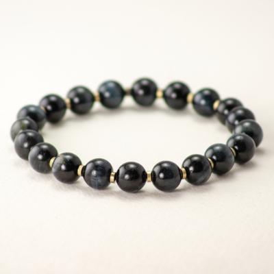 DZI Handmade Tiger Eye Stone Bracelet