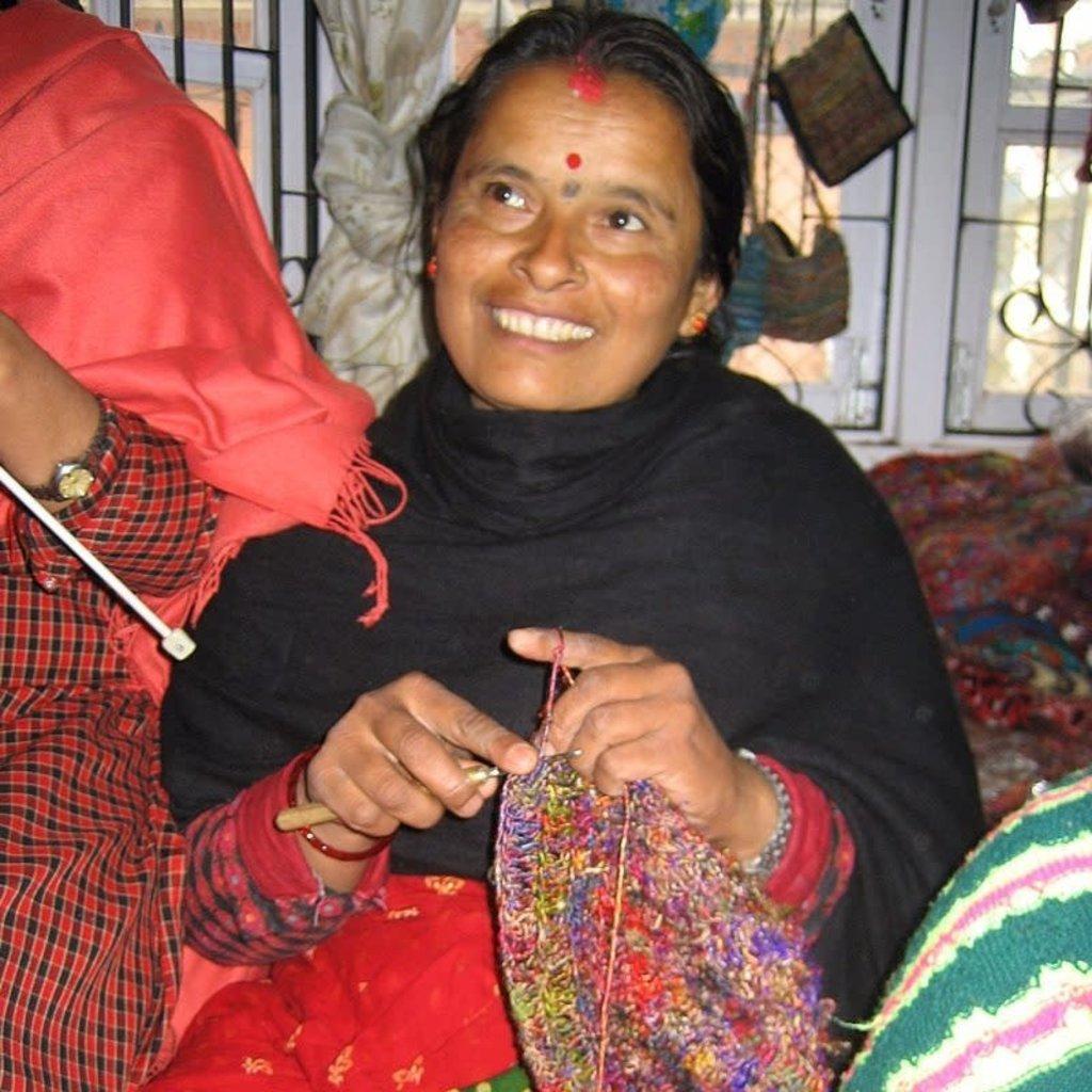 Ganesh Himal Tik Tik Wool Slippers