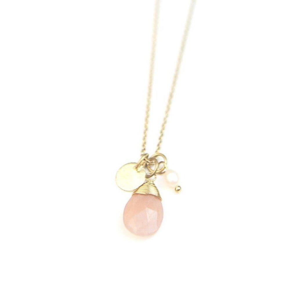 Fair Anita Tiny Treasures Brass Necklace