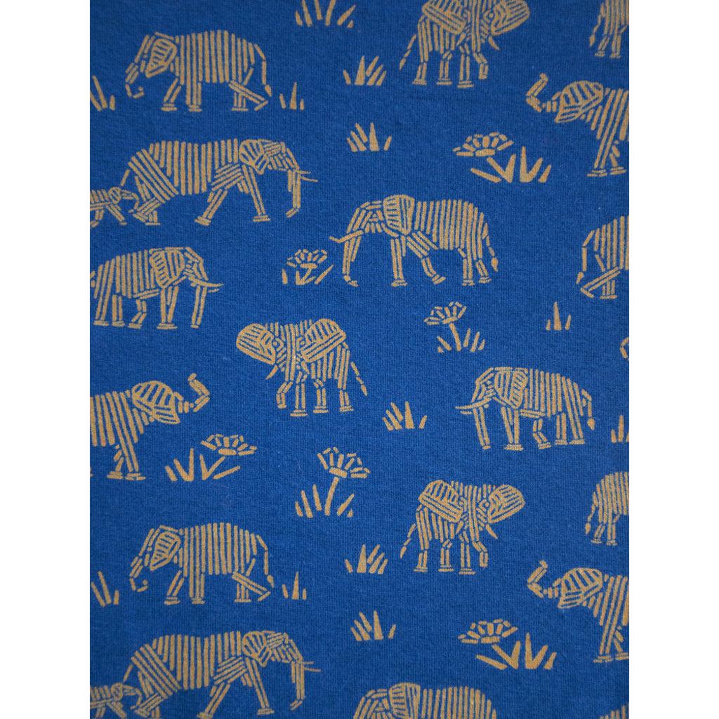 Mata Traders Lisbon Elephants Jersey Shift Dress