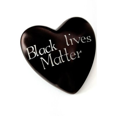 Swahili Imports Wise Words Large Heart: Black Lives Matter