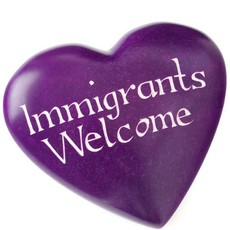 Swahili Imports Wise Words Large Heart: Immigrants Welcome