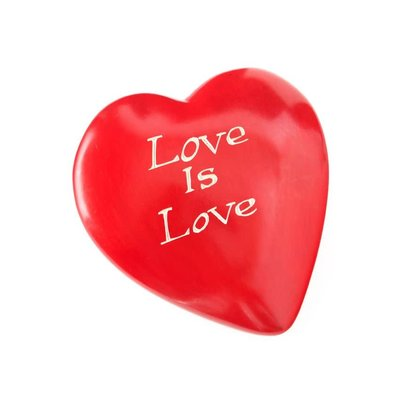 Swahili Imports Wise Words Large Heart: Love is Love