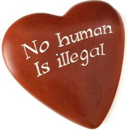 Swahili Imports Wise Words Large Heart: No Human is Illegal