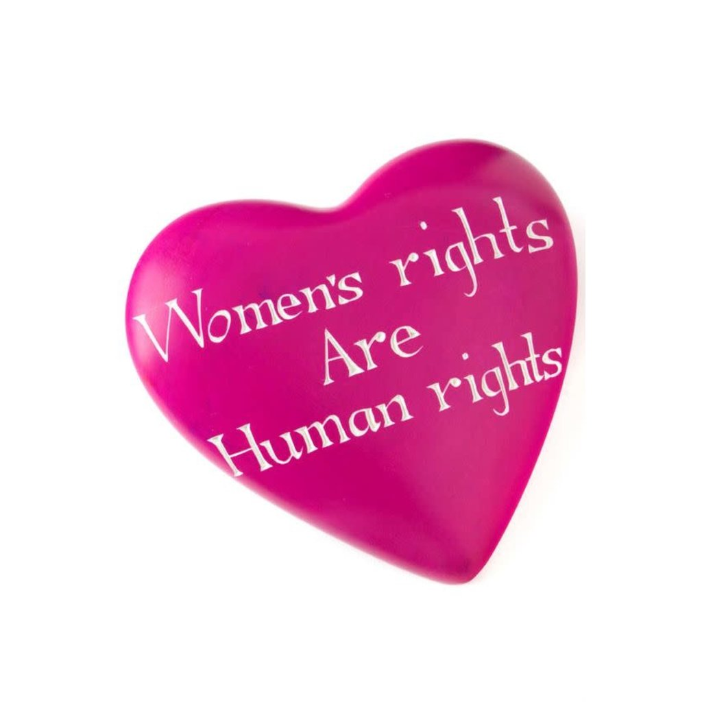 Swahili Imports Wise Words Large Heart: Women's Rights are Human Rights