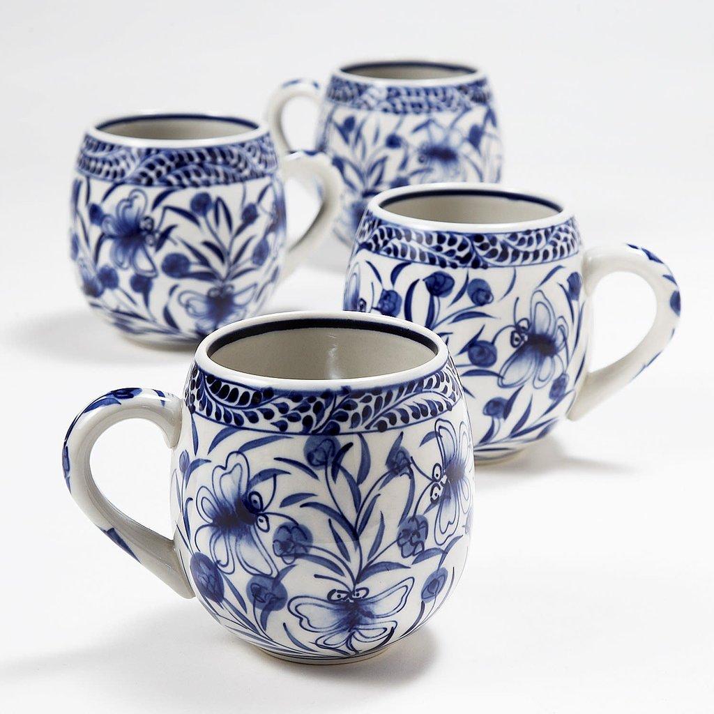 Ten Thousand Villages Toasty Morning Mug