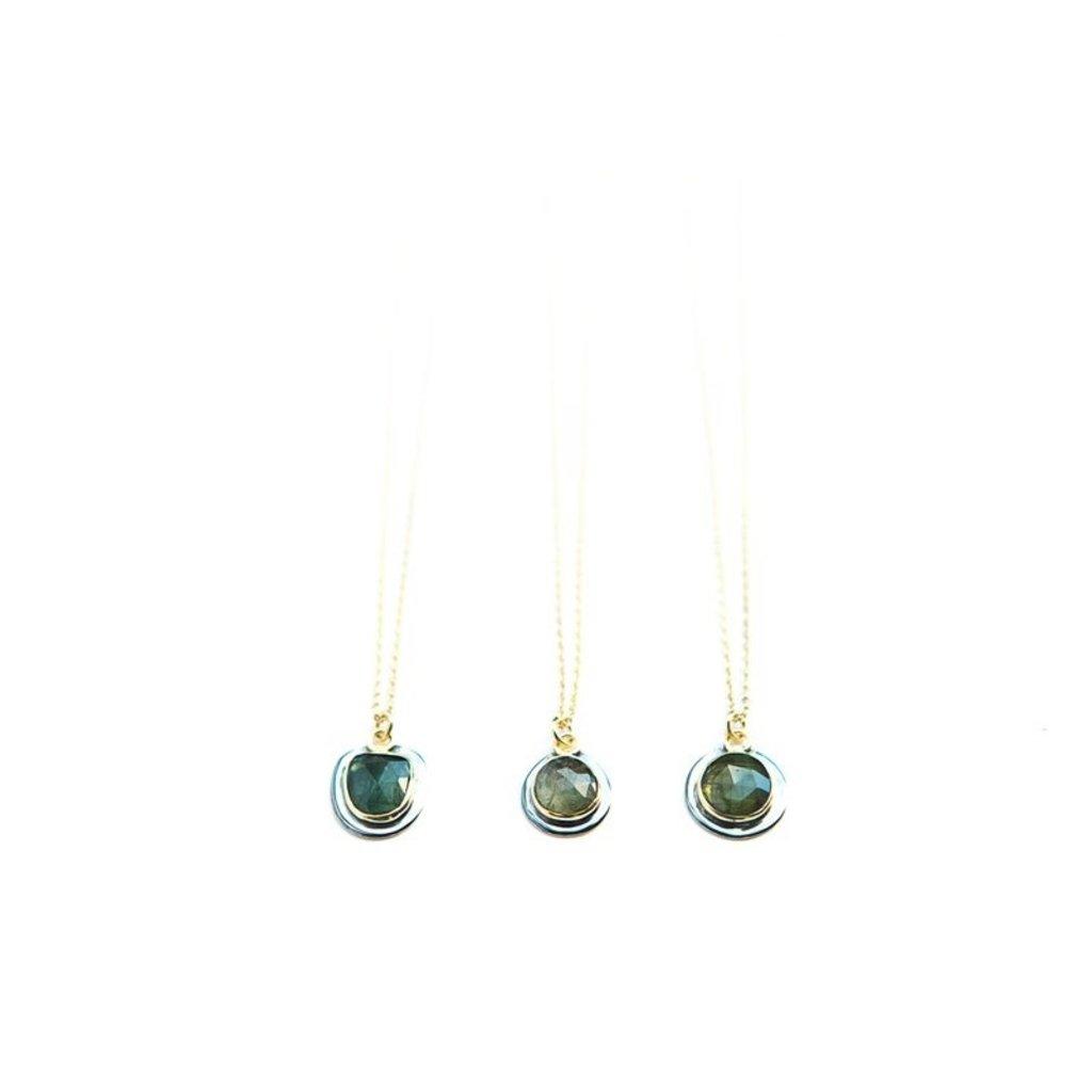 Fair Anita Tourmaline Medley Necklace
