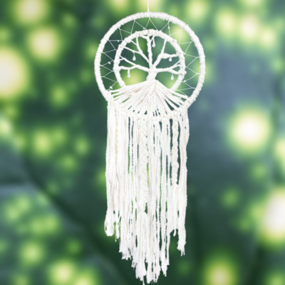 DZI Handmade Tree of Life Dream Catcher