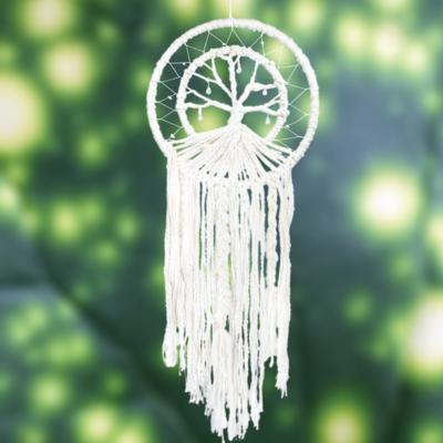 DZI Handmade Tree of Life in Ring Wall Hanging
