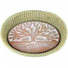 Serrv Tree of Life Terra Cotta Bread Warmer
