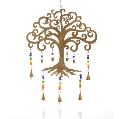 Serrv Tree of Life Wind Chime