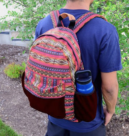 Minga Imports Tribal Backpack