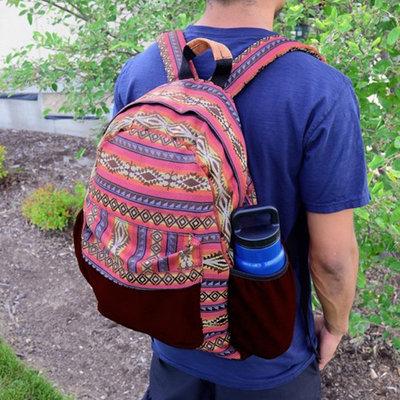 Minga Imports Tribal Backpack