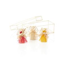Serrv Trio of Angels Abaca Ornament Box Set