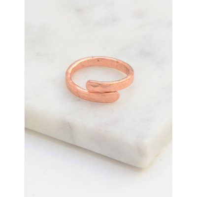 Fair Anita Twisted Vine Copper Ring