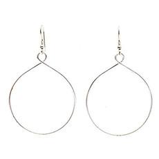 World Finds Twisting Hoops Earrings