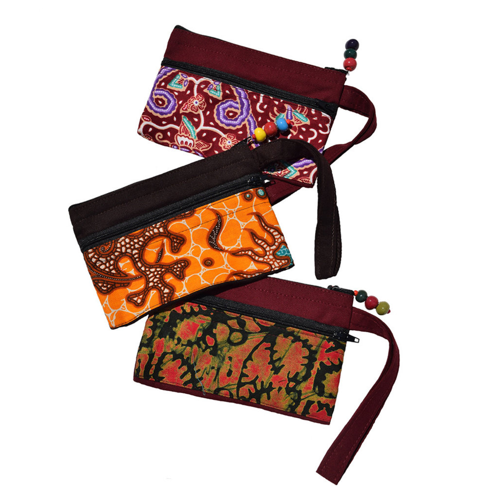 Imani Workshops Two Zip Pouch