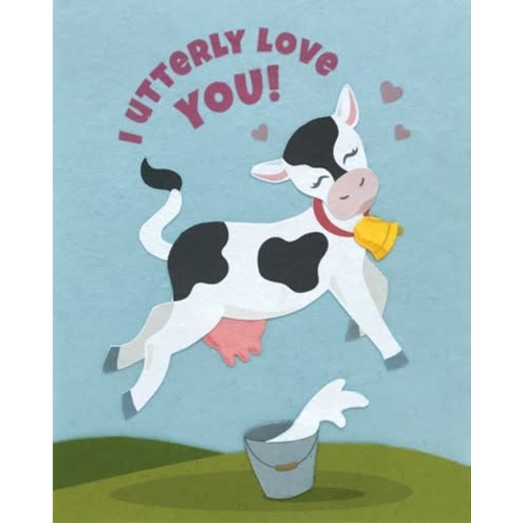Good Paper Utterly Love You Card