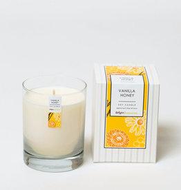 Bright Endeavors Vanilla Honey Candle 11 oz Glass