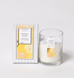 Bright Endeavors Vanilla Honey Candle 3 oz Glass