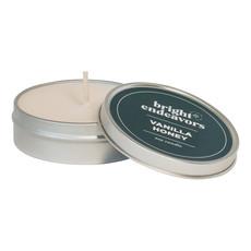Bright Endeavors Vanilla Honey Candle 4 Ounce Tin