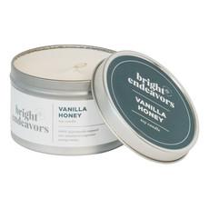 Bright Endeavors Vanilla Honey Candle 8oz Tin
