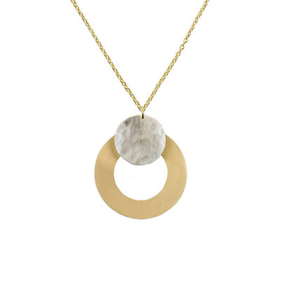 Matr Boomie Vitana Deco Disc Necklace