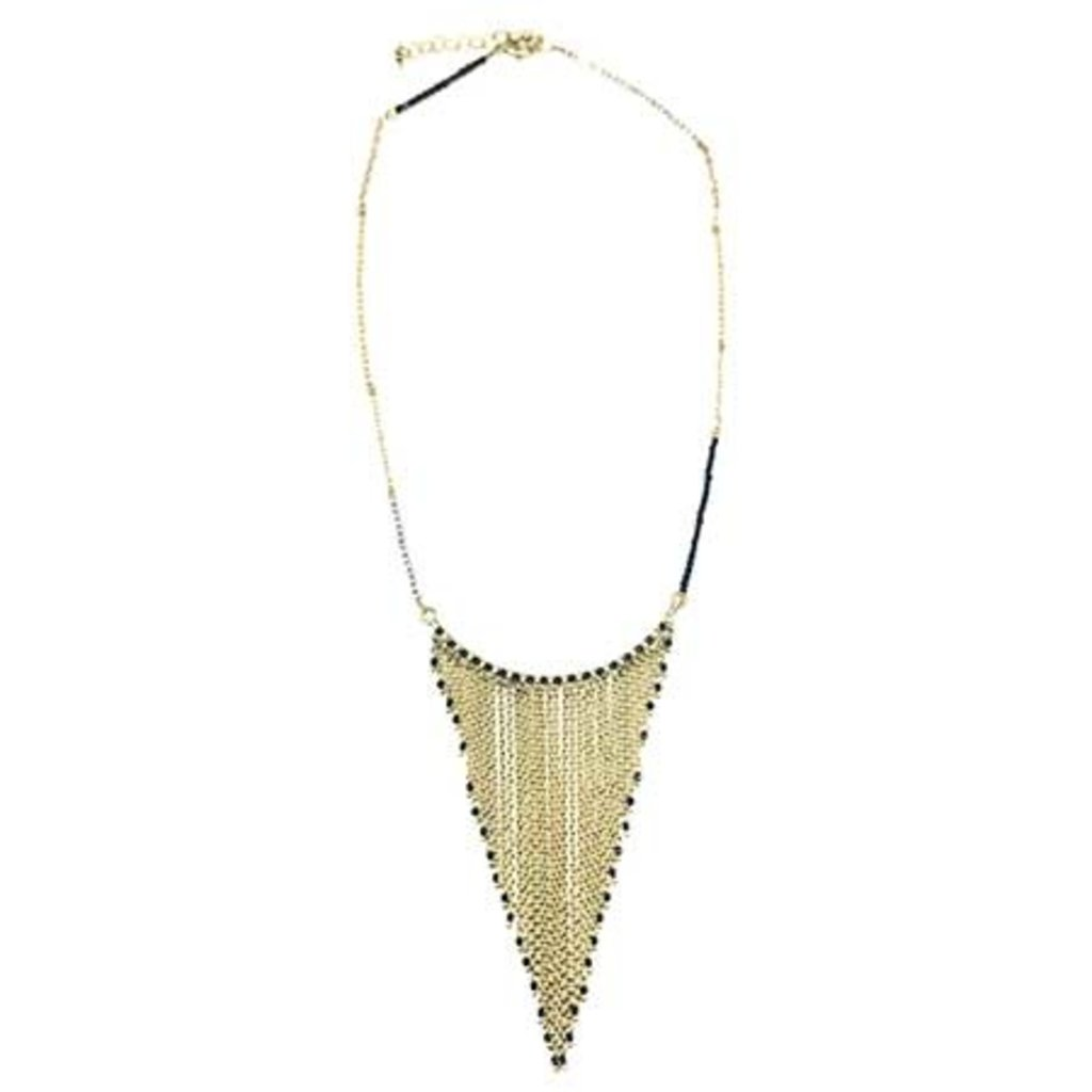 World Finds Vya Cascading Chain Necklace