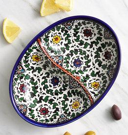 Serrv West Bank Divided Dish